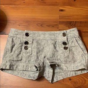 Express 3 button shorts